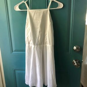 White Ealey Fushi Dress